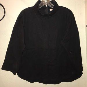 Mock turtleneck, dressy or casual