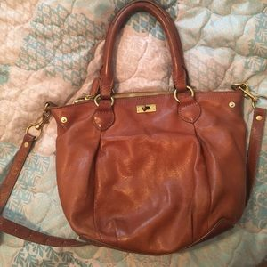 J.Crew Brown Leather Bag Occasion