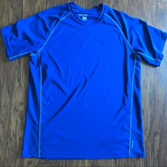 royal blue adidas shirt