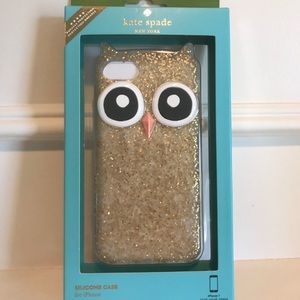 Kate Spade iPhone 7 Case Owl NEW!