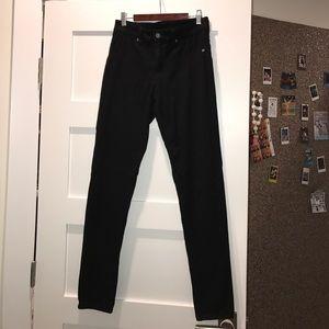 Black high waisted Carmar jeans