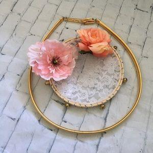 Accessories - Slinky Gold Metal Skinny Belt