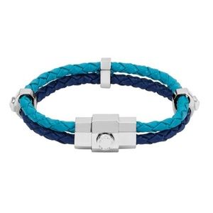 New Henri Bendel influencer stack bracelet blue