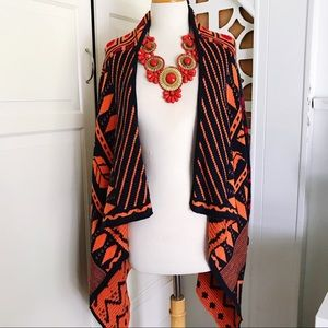 Aztec Style Cozy Knit Cardigan Sweater 🍂