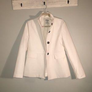 Old Navy / white pea coat