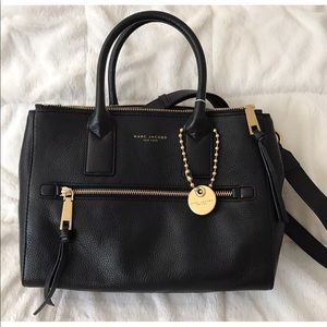Marc Jacobs Recruit East West Tote Bag Leather NWT