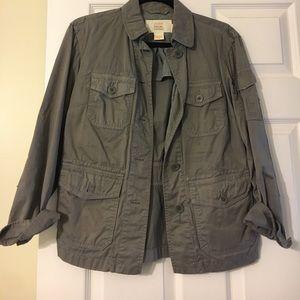 Grey jacket from Jcrew