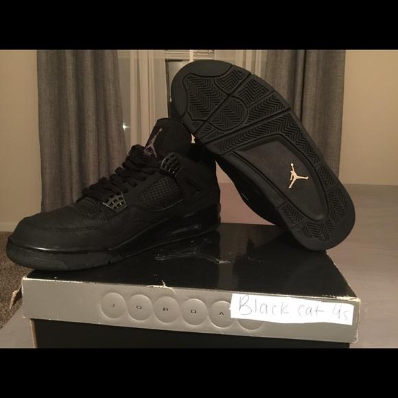 Jordan Shoes | Retro Black Cat 4s Size