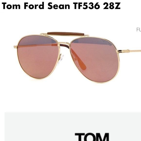 11a6a401911c Authentic Tom Ford Sean Metal Aviator sunglasses.  M 59e7927156b2d62a60093492. Other Accessories ...