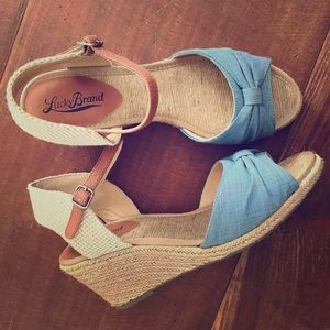 Lucky Brand Kavala Wedge Sandals