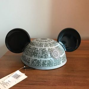 Disney Death Star mickey ears!! Price is firm!