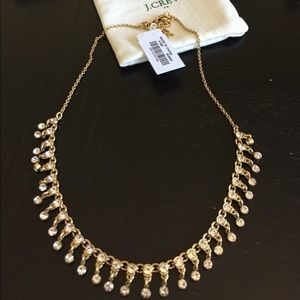 NWT J.Crew crystal statement necklace