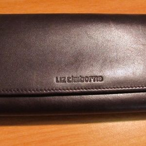 Liz Claiborne Dark Brown Wallet
