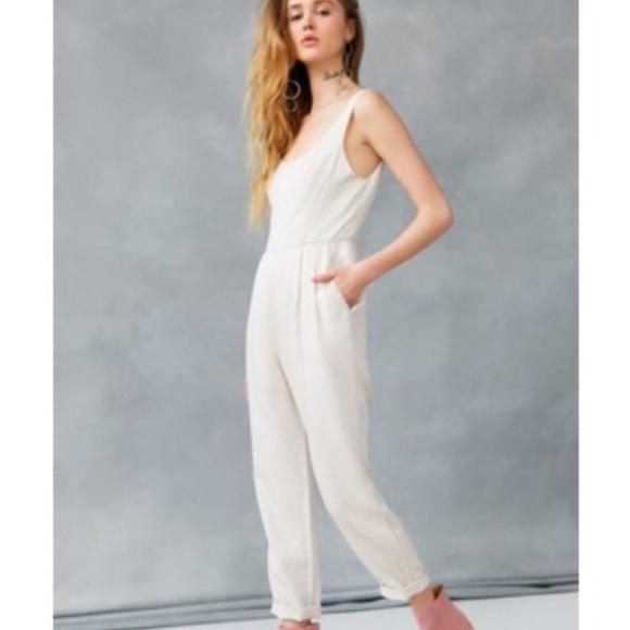 cd746a87f6fa Astr Pants - ASTR the label Janae Jumpsuit - White Sand