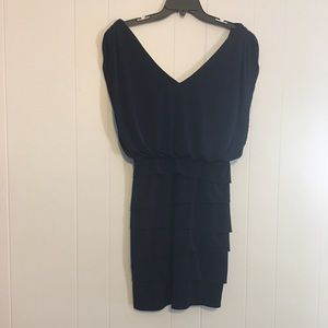 NWT Navy Blue Cache Cocktail Dress