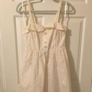 Anthropologie linen dress- size 6