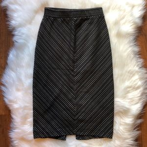 UO Printed Body Con Skirt