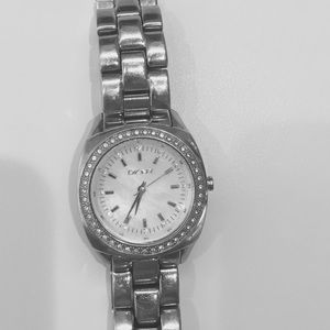 DKNY Stainless steel & crystal watch
