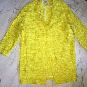 Zara Yellow Mellow Coat