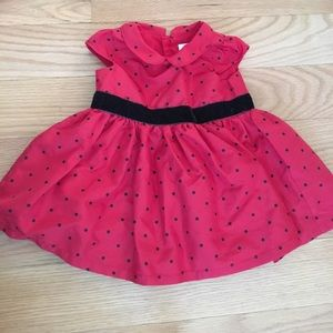 Red holiday dress!
