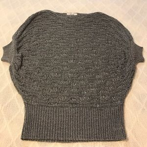 Love Culture Gray Weaved Top