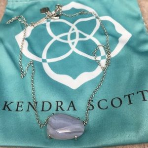 Kendra Scott Isla blue lace agate