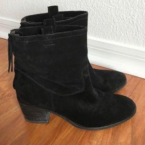 Sam Edelman Zip Ankle Boots Suede
