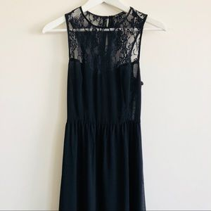 ZARA Lace long dress