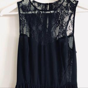 ZARA Lace long dress