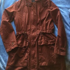 Cinnamon Color Anorak Jacket from Forever 21!