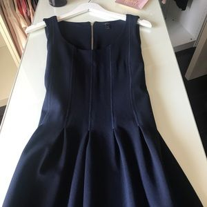 J Crew Navy Blue Dress Sleeveless