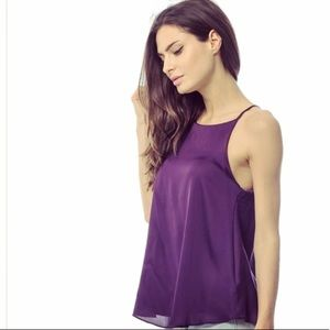 Purple Strappy ASOS Top NWOT
