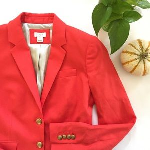 🆕{Listing} J.Crew Blazer in Orange