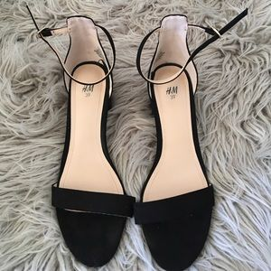 H&M ankle strap heels