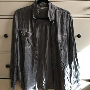Large Grey Flannel
