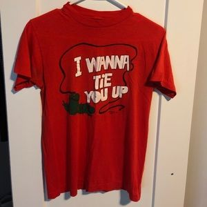 Vintage Tomato Red Tshirt size small