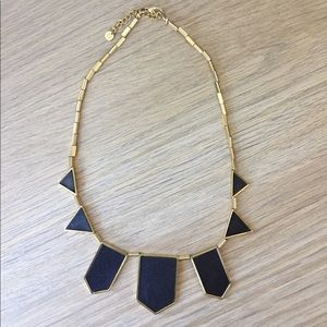 "House of Harlow 1960 ""Station Leather"" necklace"