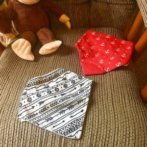 Other - Baby bib bandanas.