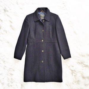 NWOT J. Crew double Cloth lady day coat
