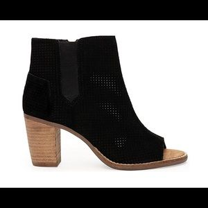 Toms Majorca perforated bootie.