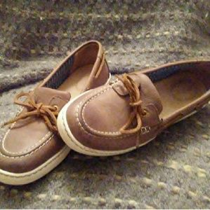 Women's Brown Sperry Top Siders Good Condition!