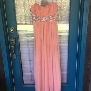 Peach/Coral formal dress