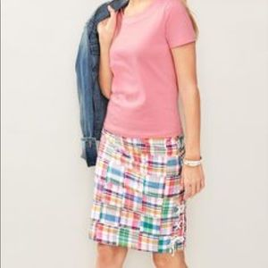 TALBOTS Patchwork Skirt