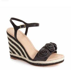 kate spade new york jill wedge sandal size 7.5
