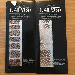 Nail Art Design strips from Avon