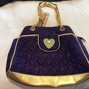 Besteyville Tote Bag (Purple/Gold)