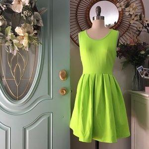‼️SALE‼️ REVERSE Lime Neoprene Dress