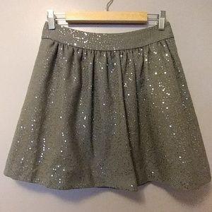 🌌Banana Republic sequin skirt