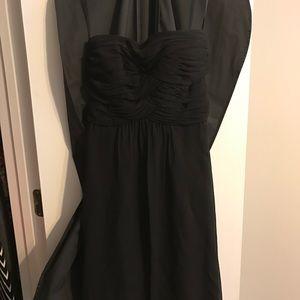 Basic black cocktail dress
