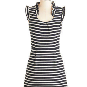 "Modcloth Black & White ""Sweater"" Dress"